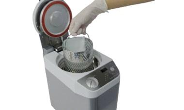 小型未包装品用高圧蒸気滅菌器